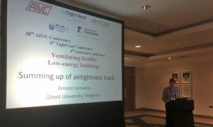 Summing up of airtightness track at the 38th AIVC - 6th TightVent – 4th venticool joint conference